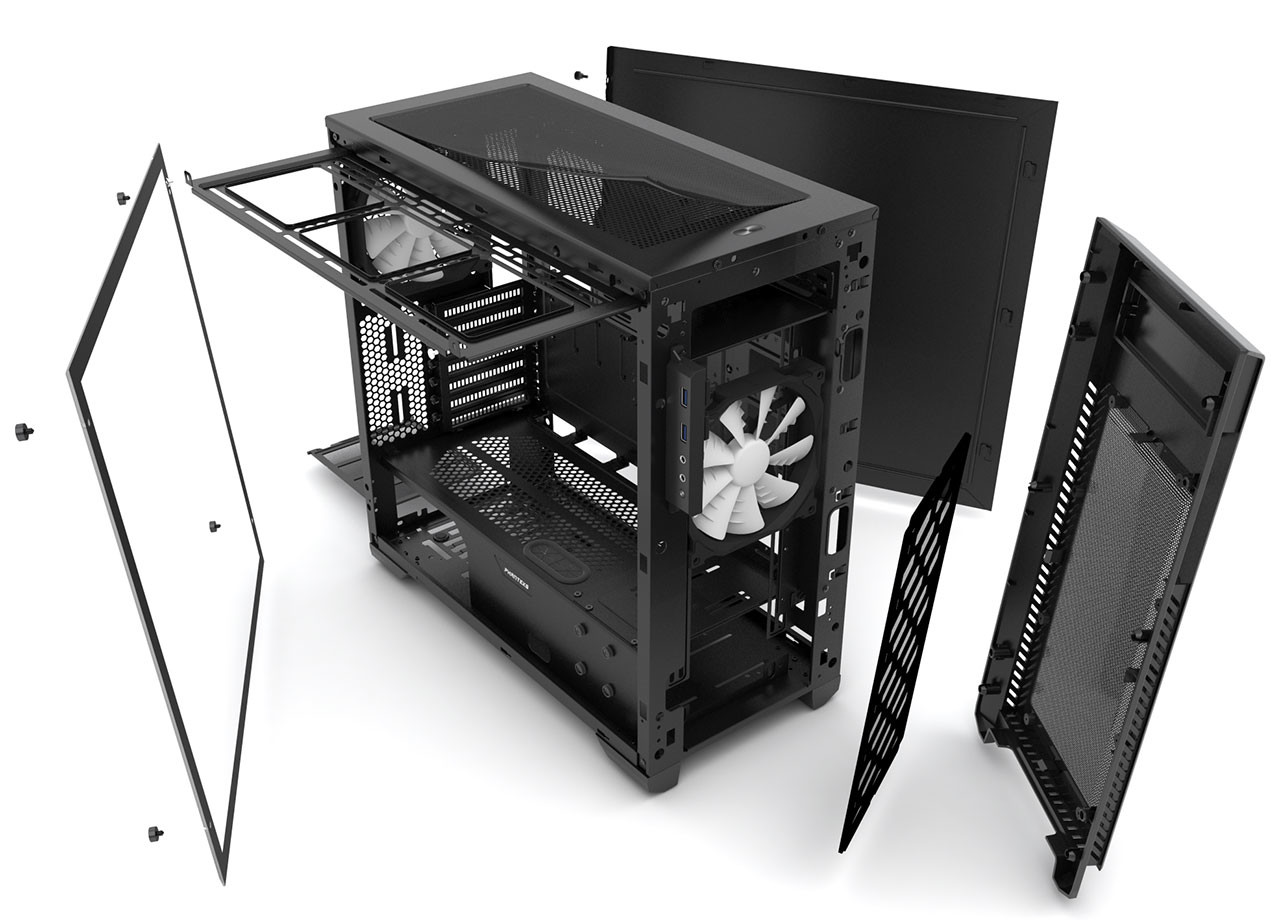 Phanteks annuncia l'Enthoo Pro M Acrylic Window Edition